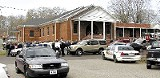 the funeral services for Rev. Winkler at Selmer's 4th St. Church of Christ