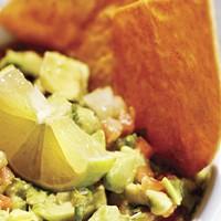 The grill's guacamole