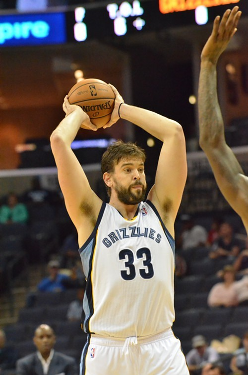 The Grizzlies are going to miss Marc Gasol while hes gone, and theres no good way around that.