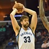 "Reports: Marc Gasol out ""indefinitely"" with Grade 2 MCL sprain"