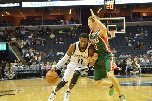 The Grizzlies play the Bucks twice between now and the end of the season, among other East teams.