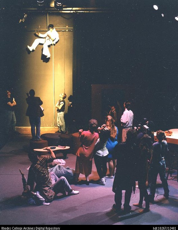 The King in Tartuffe. Rhodes College, 1994 - MCCOY THEATRE