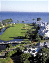 COURTESY OF SANDESTIN GOLF AND BEACH RESORT - The Links at Sandestin, with views of the bay