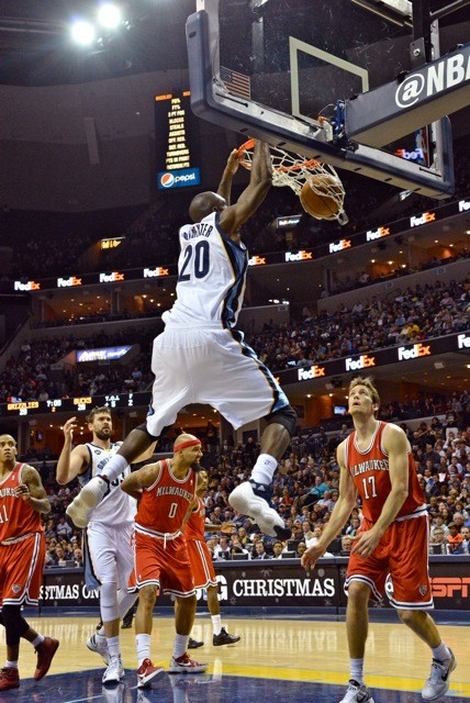 The loss of Quincy Pondexter will be a tough one for the Grizzlies.