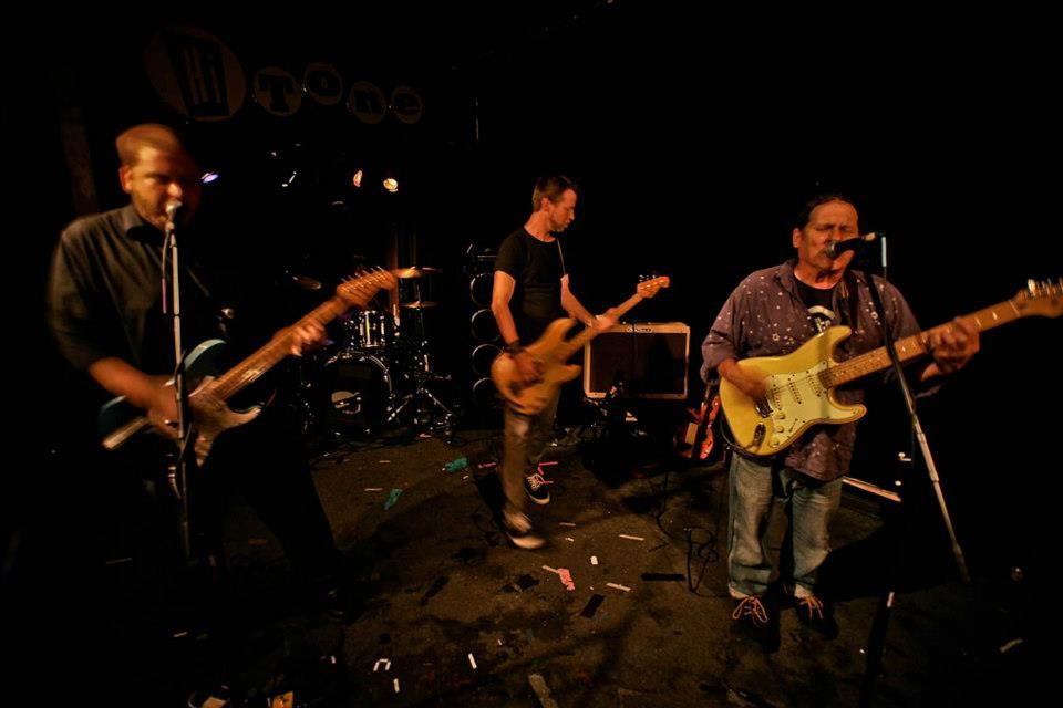 The Modifiers, new line-up, old Hi-Tone