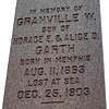 The Mysterious Death of Granville Garth