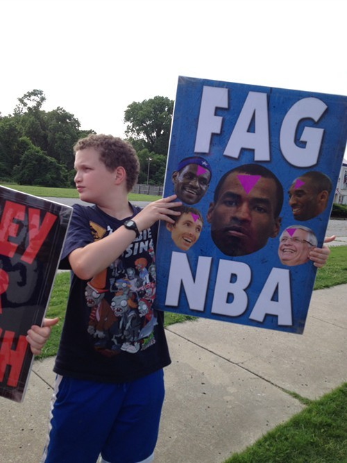 The NBA is a new target for Westboro.