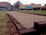 TOBY SELLS - The new bocce ball court on South Main