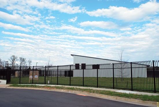 The new Memphis animal shelter