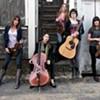 The Parkington Sisters at Rock-n-Romp,  the Levitt Shell