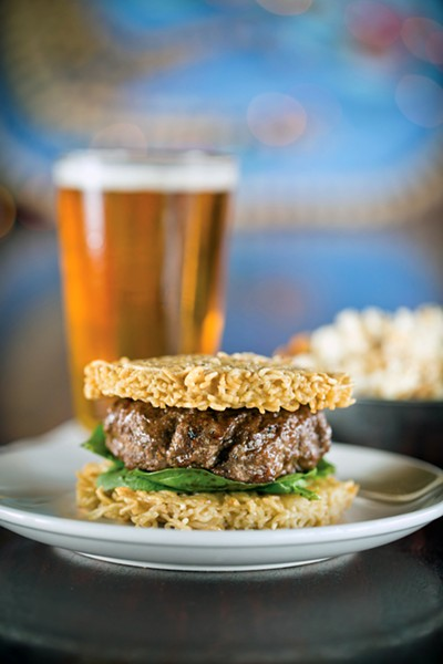 The Ramen Burger - JUSTIN FOX BURKS