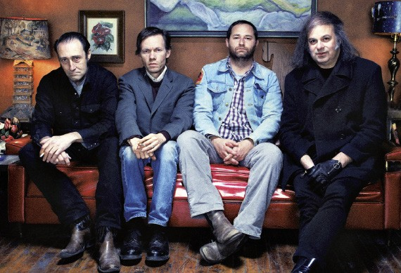 The Reigning Sound, with (second from right) Greg Cartwright