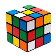The Rubik's Cube on Top of Beale Street Landing
