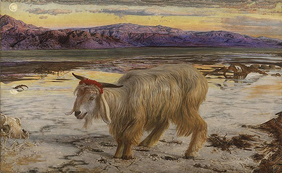 The Scapegoat by William Holman Hunt