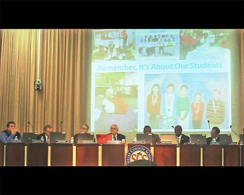 The SCS Board, under a mission statement of sorts