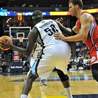 The season begins where the last ended: With Z-Bo and Blake Griffin battling on the block.