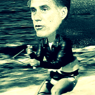 The Shark, and How to Jump It: Mitt Romney's campaign looks like chum in the water