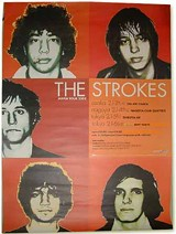 The Strokes (Japanese poster)