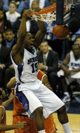 The Tigers' Joey Dorsey