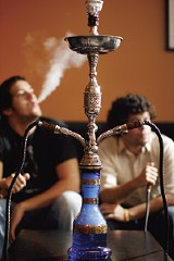 JUSTIN FOX BURKS - The University Lounge is one of three hookah bars in the city.