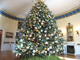 The White House Christmas tree, ornaments and all