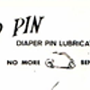 The Zip-Pin Diaper Pin Lubricator