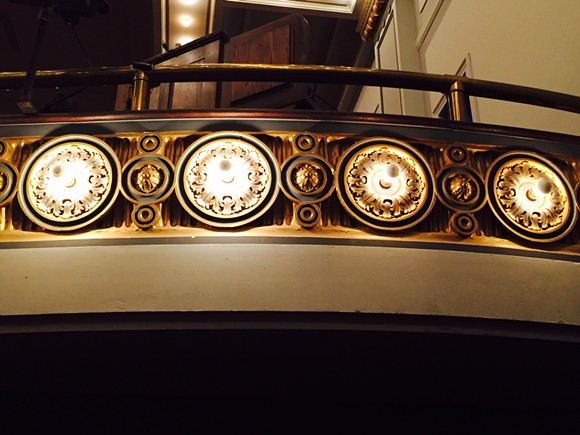 Theater detail.