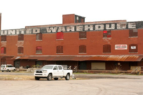 This South Main warehouse will be converted into living/working space for artists.
