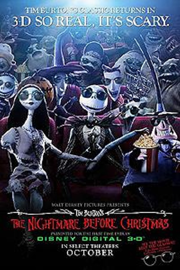 Tim Burton's The Nightmare Before Christmas in Disney Digital 3-D   Memphis News and Events   Memphis Flyer