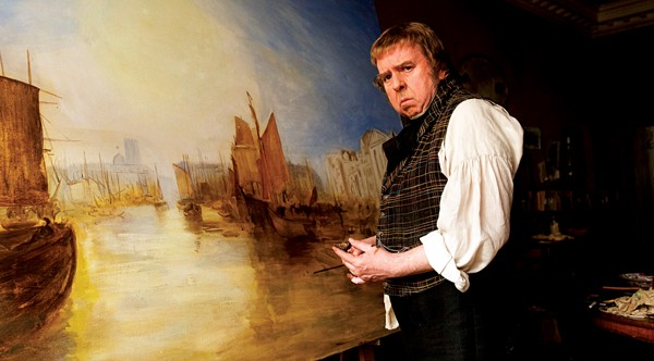 Timothy Spall as J.M.W. Turner