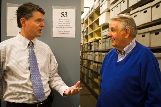 Tom Leatherwood and Bill Morris
