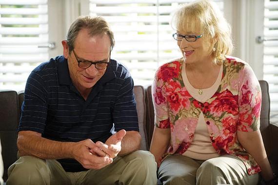 Tommy Lee Jones and Meryl Streep in Hope Springs
