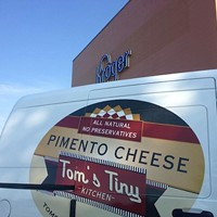 Tom's Tiny Kitchen Pimento Cheese Now at Kroger