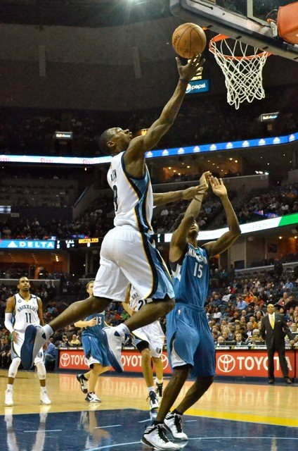 Tony Allen imposed his physicality on the defensive end.