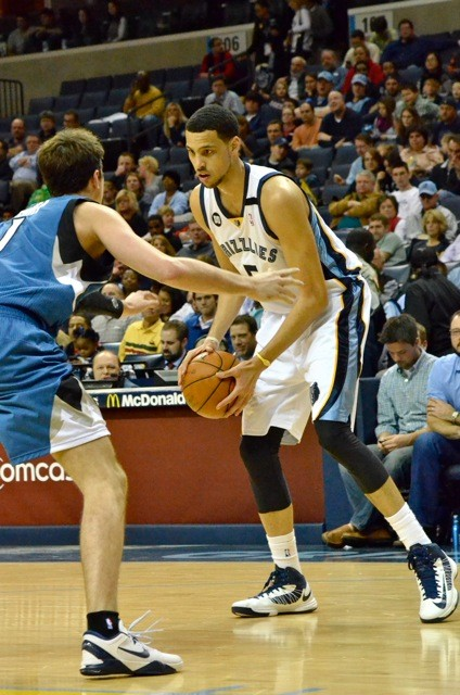 Trade throw-in Austin Daye has surprised for the Grizzlies so far.