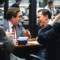 "Two ""wolves"" from The Wolf of Wall Street"