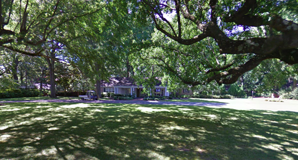 U of M president's home on Grandview Drive. - GOOGLE MAPS
