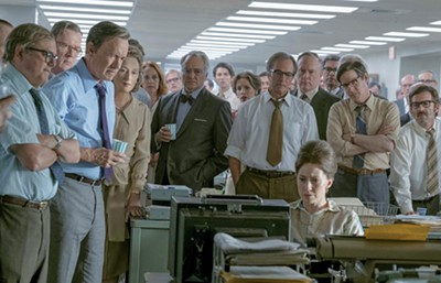 Tom Hanks and Meryl Streep lead a star-studded cast in The Post, Steven Spielberg's remarkable new film about the release of the Pentagon Papers