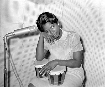 Withers was also the official photographer for Stax Records' Carla Thomas - © DR. ERNEST C. WITHERS, SR. COURTESY OF THE WITHERS FAMILY TRUST
