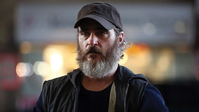 Joaquin Phoenix masters the thousand-yard stare in Lynne Ramsay's new film.