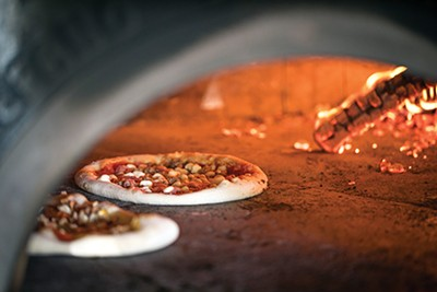Authentic pizzas made according to the rigorous Associazione Verace Pizza napoletana  guidelines.