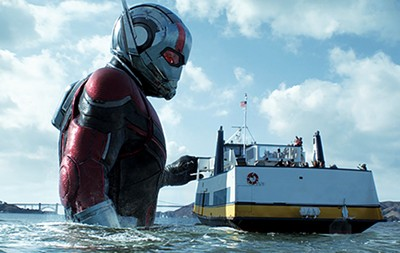 Paul Rudd returns to the role of Marvel's Ant-Man.