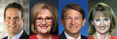 GOP: Bill Lee, Diane Black, Randy Boyd, and Beth Harwell