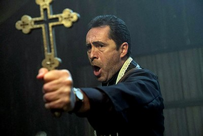 Demián Bichir plays a priest in The Nun.