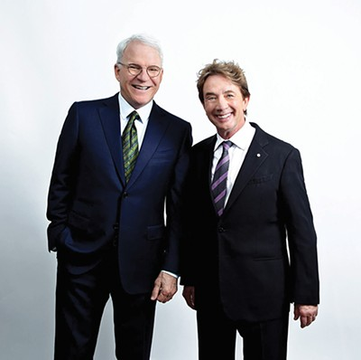 Steve Martin (left) and Martin Short