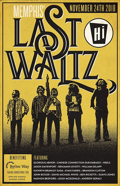 """""""We called it - The Last Waltz."""""""