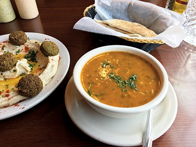 Moroccan Soup at Casablanca