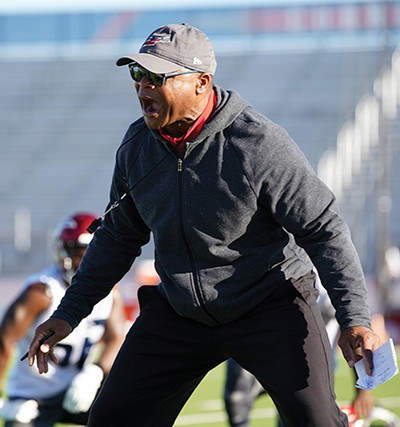 Mike Singletary - PHOTOGRAPHS COURTESY OF MEMPHIS EXPRESS/AAF