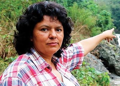 Honduran activist Berta Caceres - BERTACACERES.ORG