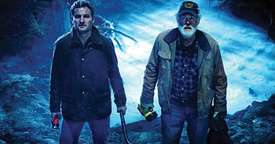 Didn't anyone tell them sometimes dead is better? Jason Clarke (left) and John Lithgow contemplate breaking the barrier in the new Pet Sematary remake.